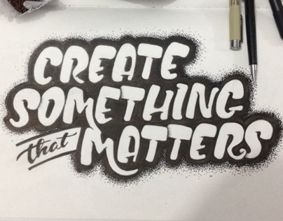Create Something that Matters