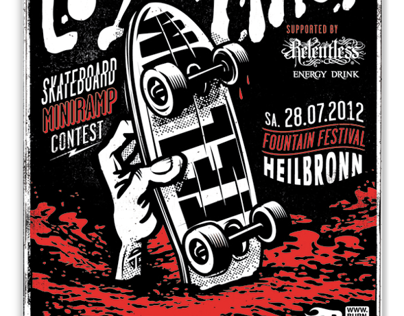 Liquid Lines Skateboard Contest