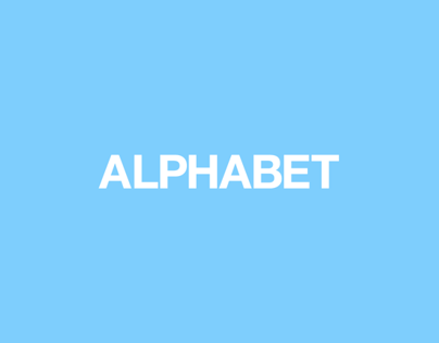 ALPHABET // LOGO SET