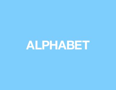 ALPHABET // LOGO SET