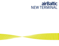 AIR BALTIC Terminal Riga Latvia