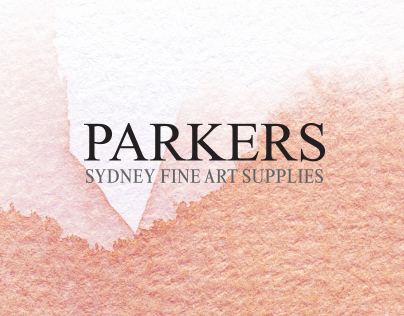 Parkers Fine Art Supplies - Website