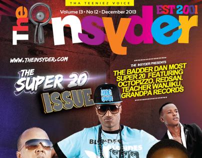 The Insyder Magazine Dec 2013 Issue Design & layout