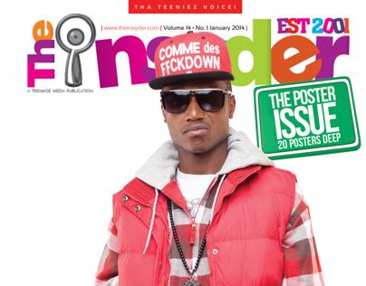 The Insyder Magazine Jan 2014 Issue