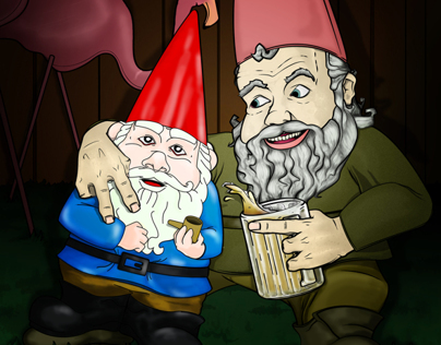 One Drunk Gnome