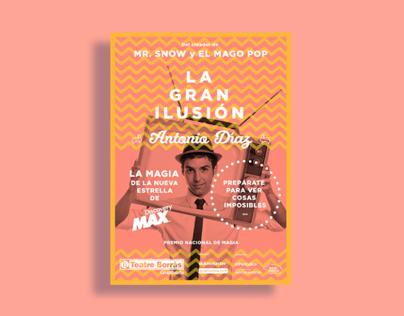 Antonio Díaz (Mago Pop) |La Gran Ilusión