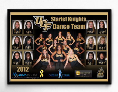 UCF Dance Team Poster