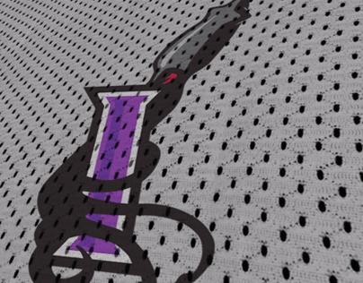 Bay Area Invaders   A11FL Team Branding Concept