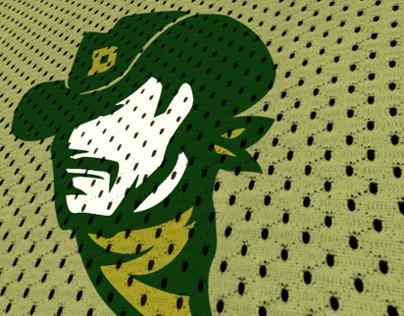 Dallas Wranglers | A11FL Team Branding Concept