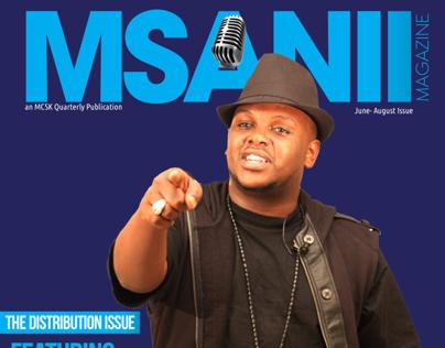 Msanii Magazine Design & Layout