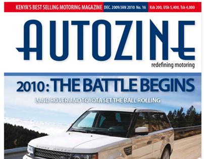 Autozine Magazine Design