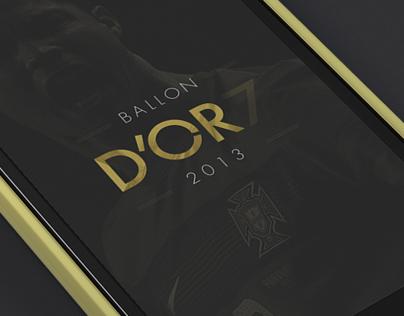 Cristiano Ronaldo (CR7) | Ballon DOr