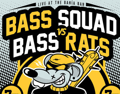 BASS SQUAD vs BASS RATS