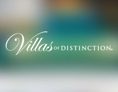 Villas of Distinction Website Redesign