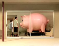 Comcast Piggybank TV