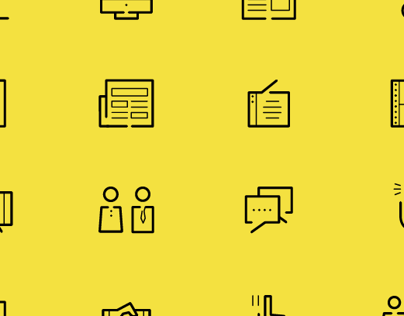 Minimalistic Pictogram set  - CKSK.