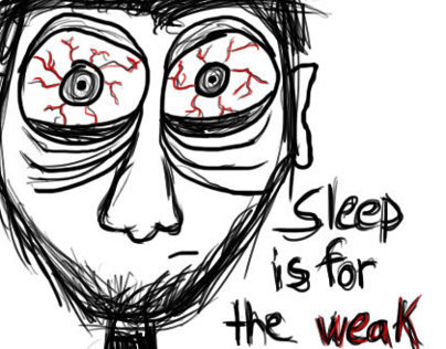 No sleep!