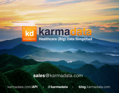karmadata - Print, Presentations and Marketing Document