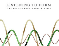 Listening to Form/  DAE 2007/ Workshop booklet