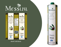 Packaging Design - Messini Extra Virgin Olive Oil