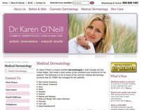 Web Design for COMMbits Inc./Dr. Karen Oneill