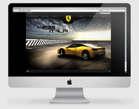 Ferrari Website