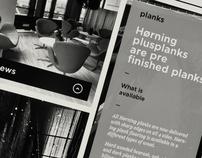 Horning Flooring - Web pitch
