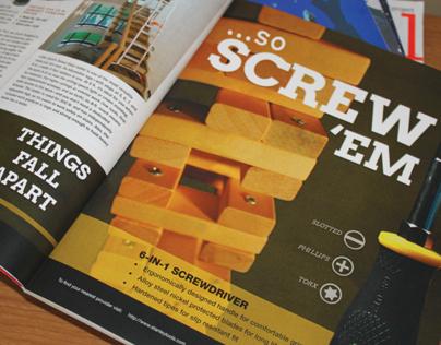 Stanley Tools Magazine Ad