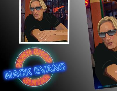 Mack Evans Blues Artist