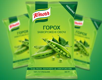 Knorr заморожені овочі