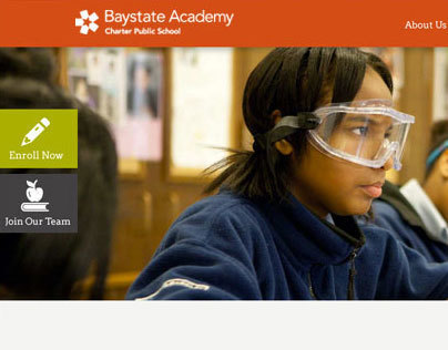 Baystate Academy Web Design