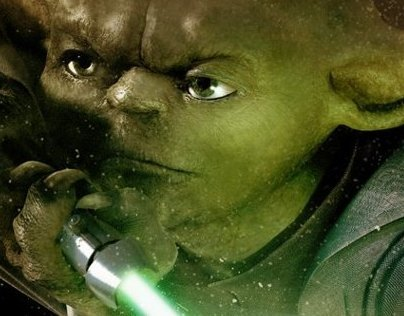 Star Wars - Yoda Movie Poster