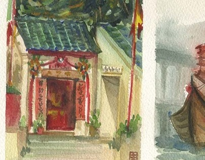 Hong Kong Travel Sketches