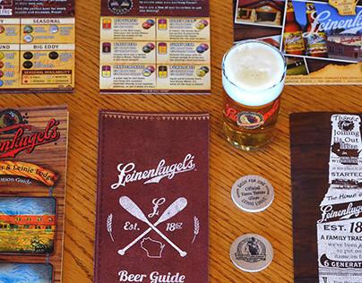 Leinenkugel's Leinie Lodge Tour & Sampling Materials