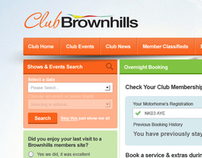 Club Loyalty Website