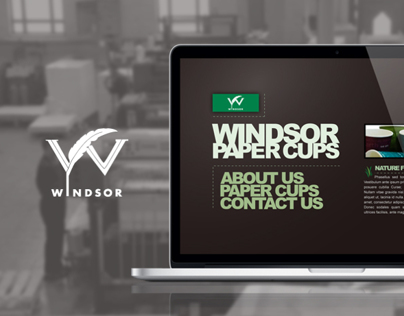 Windsor Paper Cups Website