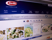 Barilla.it web portal