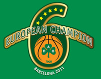 European Champion 2011 Artwork & T-Shirt