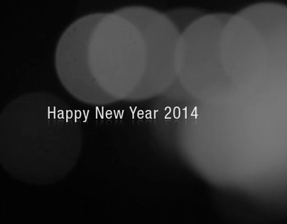 Happy New Year 2014 From Bandung