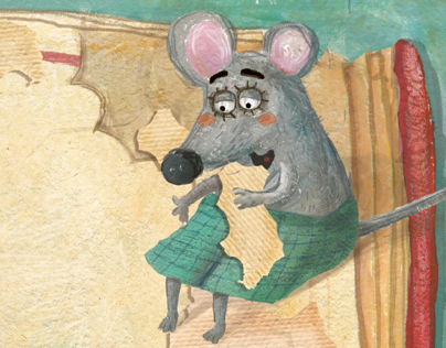 Mouse In The Book