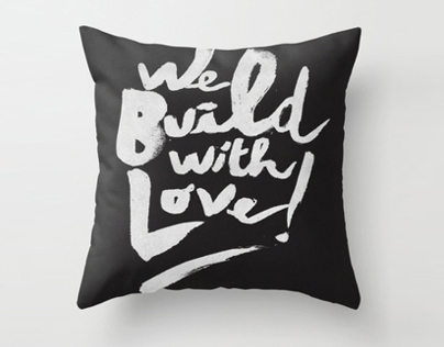 WE BUILD WITH LOVE - MERCHANDISE