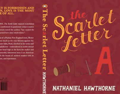 Scarlet Letter Book Cover Design