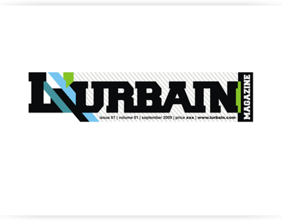 Logo for L'Urbain Magazine.