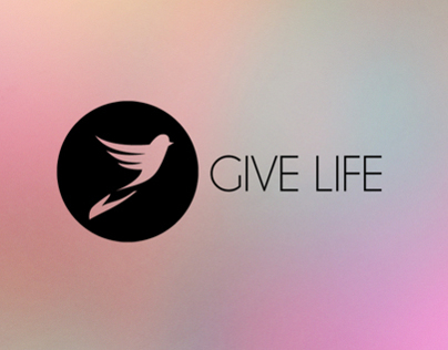 Give Life logo design