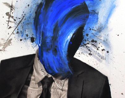 A Handsome Blue Man