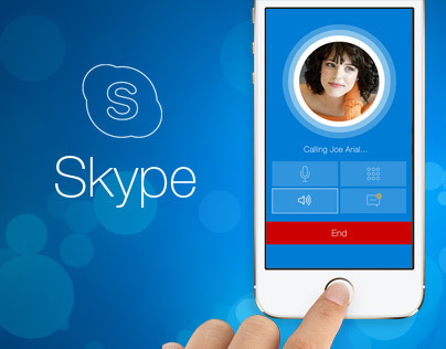 Skype iPhone App Redesign