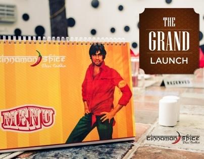 The Grand Launch of Cinnamon Spice