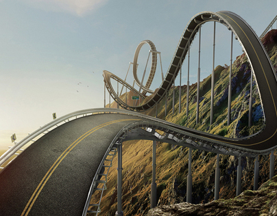 Mercedes Benz - Rollercoaster Road