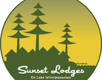 Sunset Lodges Identity