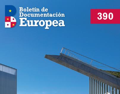 Rediseño del Boletín Documentación Europea